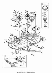 Mtd 13ad775s059  2014  Parts Diagram For Mower Deck 42