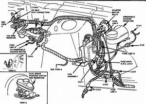 1991 Ford Bronco Fuel System Diagram