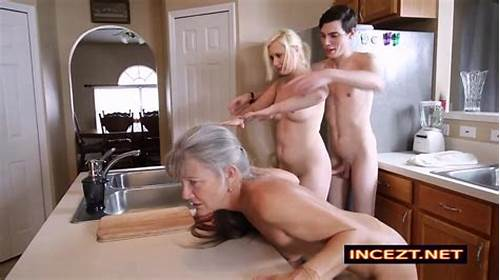 Junior Mature Sex Tiny Threesome By Grandpas Cunt Fucked #Frozen #Mom #And #Daughter #Threesome #In #The #Kitchen