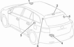 Toyota Avensis T270  2009- 2017  - Fuse Box Diagram