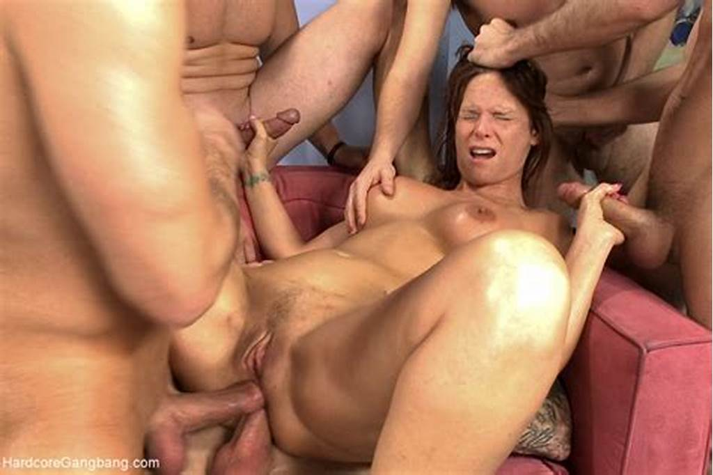 #Brunette #Mom #Gangbanged #Badly #By #Her #Son'S