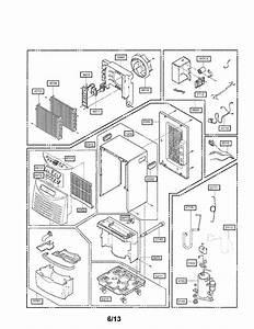 Lg Dehumidifier Parts