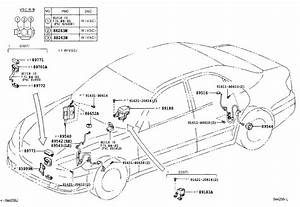 Toyota Camry Abs Wheel Speed Sensor Wiring Harness