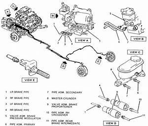 32 1998 Ford F150 Brake Line Diagram