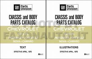 1974 Chevy Car Wiring Diagram Manual Reprint Impala