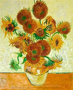 Gogh, Vincent Van Sunflowers (14 in a Vase) Painting ...