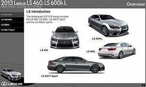 Lexus Ls460  Ls460hl 2013 New Model Technical Preview