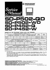 Pioneer Sd-p502-qd