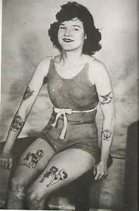 Vintage, Photographs, Of, Tattooed, Women