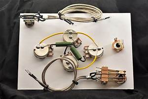 Eds 1275 Wiring Harness Gibson Or Epiphone 2 300k Linear