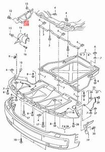 Genuine Cover For Engine Compartment Right Audi Rs6