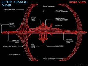 Schematic Of Deep Space Nine  My Favorite Series     Deep