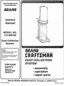 Craftsman Sp5373 Owners Manual
