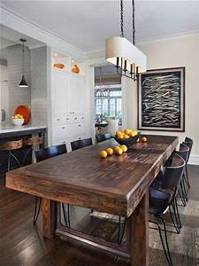 8 idees de salle a manger moderne rustique industrial With salle a manger rustique
