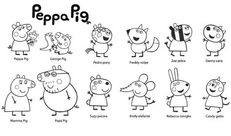 30 Printable Peppa Pig Coloring Pages You Won't Find
