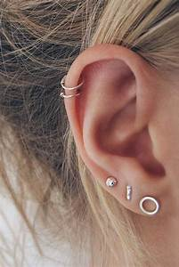 Ear Piercings - Types of Ear Piercings, History ...