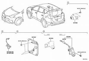 2017 Toyota Rav4 Wire  Television Camera  Audio  Limd  Usa