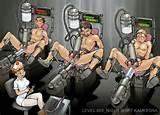 Bondage machine male milking
