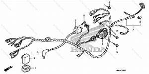 Honda Atv 2009 Oem Parts Diagram For Wire Harness