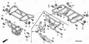 Honda Atv 2005 Oem Parts Diagram For Carrier