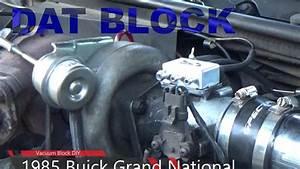 1985 Grand National Vacuum Block Diy