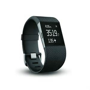 HITBIT:... / Fitness Trackers / Fitbit Surge Fitness Superwatch, Black, Large