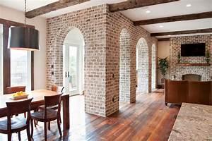 Impressive Fake Brick Wall trend Charleston Traditional ...