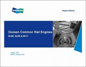 Doosan Engine Dl06  Dl08  Dv11 Training Manual Download