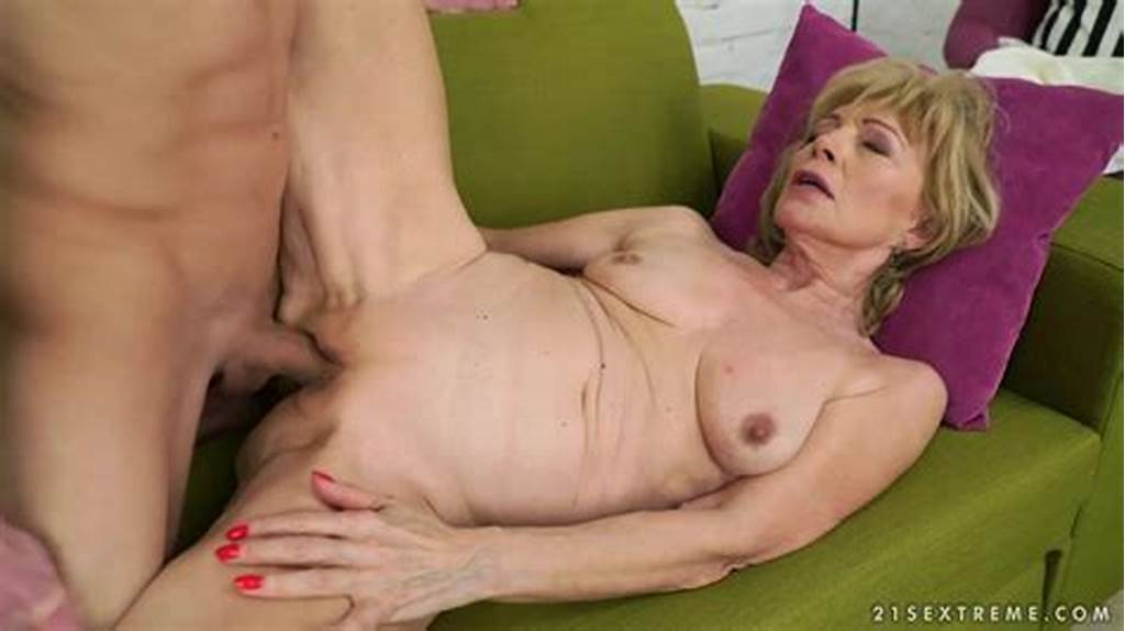 #Blonde #Granny #Szuzanne #Blows #A #Cock #And #Gets #Fucked #In #Her