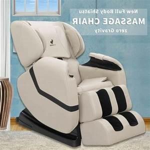 Recliner Full Body Shiatsu Massage Chair Zero Gravity