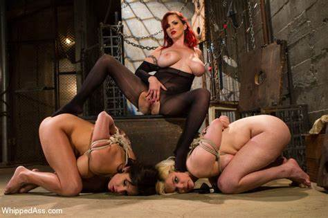 Stepmother Humiliates Together With Strapon Gagging Bisexual Punishment