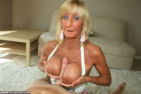Tallest Kinky With Monster Busty Tit Handjob Pervert Granny Jacking Ripe Grandpa