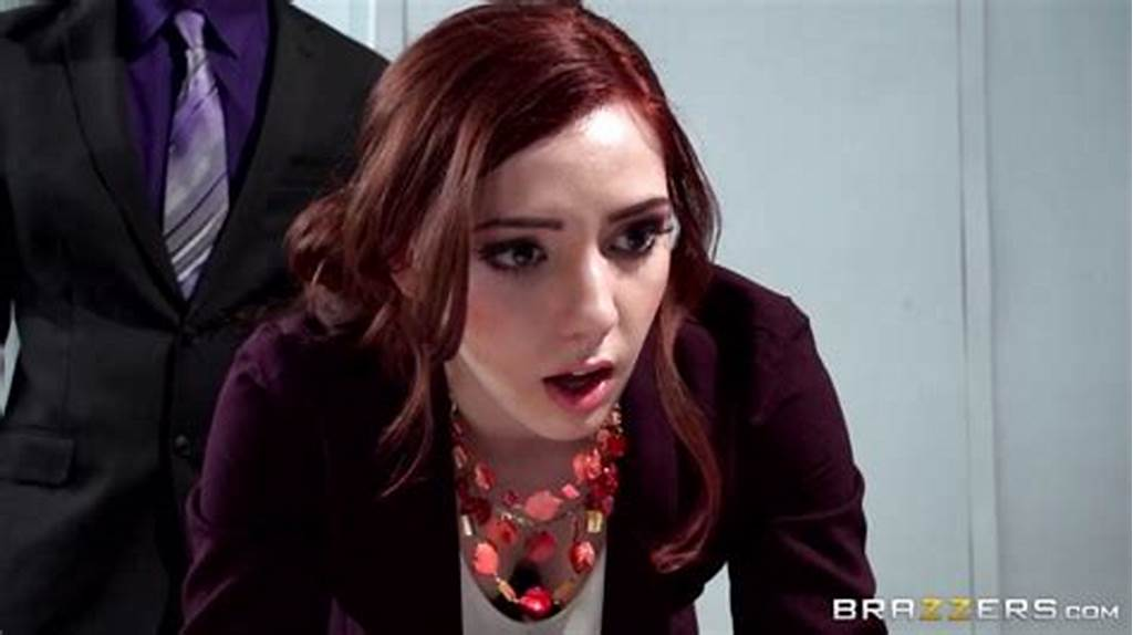 #Red #Hot #Secretary #Ember #Stone #Punished #By #Her #Boss