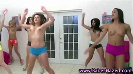 Teen Nude Exercising
