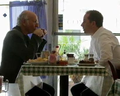 Larry david was the subject of the comedians in cars premiere, which makes sense considering that he and jerry got the idea for seinfeld from just hanging out together. Watch a Bunch of Celebrities Drink Coffee | Comedians, Coffee drinks, People drinking coffee
