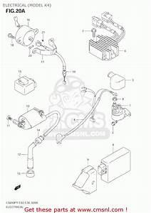 Suzuki Ls650p Savage 2002  L2  Usa  E03  Electrical  Model