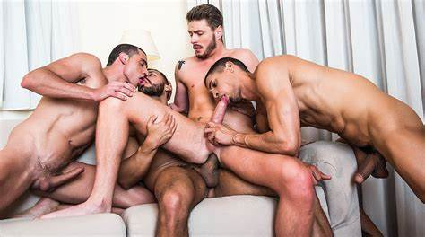 Lusty Group With Bareback Booty Porn