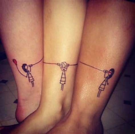 Tatuajes para amigas: 30 diseños con los que llevar