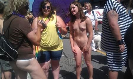 Nude Teen Parades
