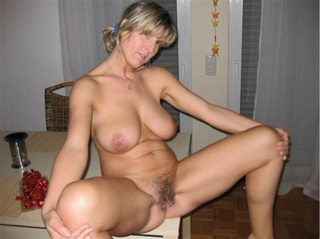 #Mature #Woman #Homebody #Exposing #Her #Flabby #Twat #In #Front #Of
