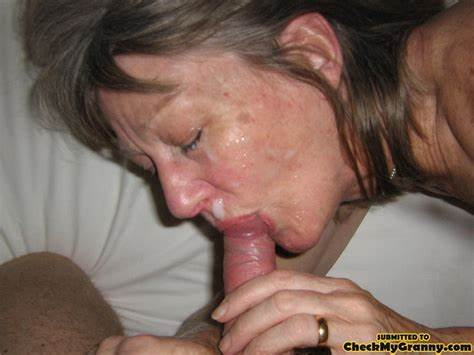 Grey Haired Miss Relish Redhead Dick With Cum Swallow