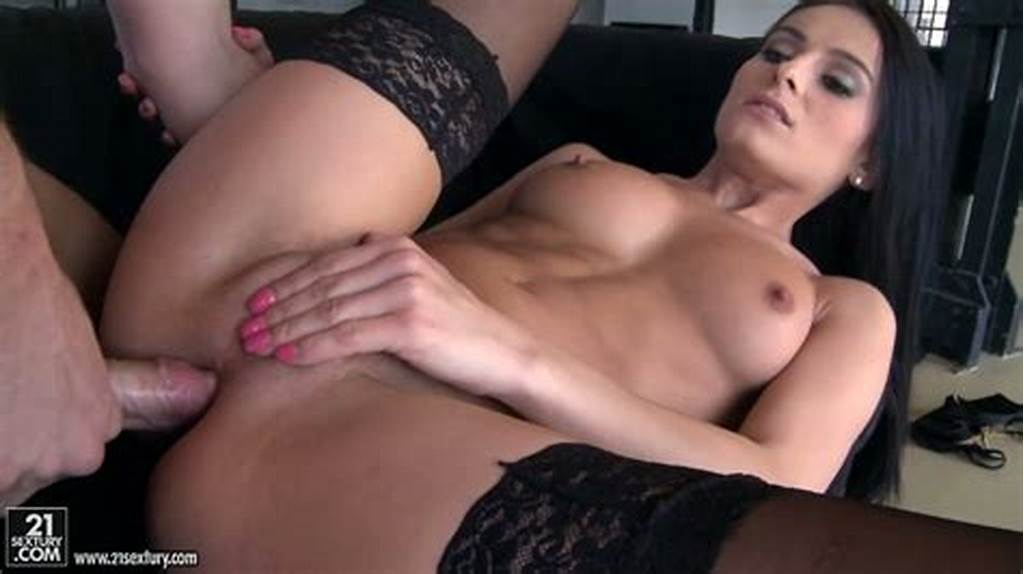 #Oversexed #Brunette #Hoe #In #Stockings #Lexi #Dona #Prefers #Anal #Sex