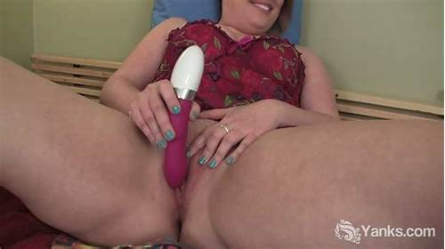 Three Chubby Brunettes Involved A Dildo