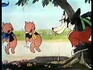 Youtube Trois Petit Cochon : dessins anim s walt disney les trois petits cochons french ~ Zukunftsfamilie.com Idées de Décoration