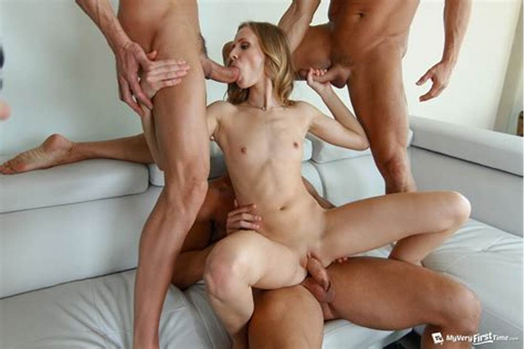 #Rachel #James #In #Her #First #Gangbang