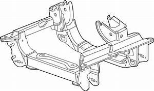 Ford Escape Engine Cradle  W  2 5 Liter  Suspension  Front