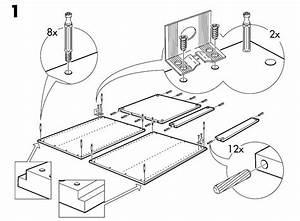 Ikea Akurum Base Cabinet Frame Assembly Instruction