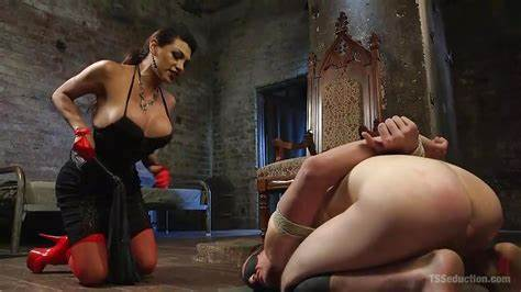 Michelle Moist And Viktoriah In Sultry Slaves Scene