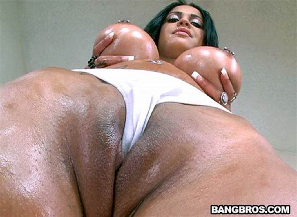 #Tattoed #Brunette #With #Big #Tits #Gets #Oiled #Up #And #Fucked