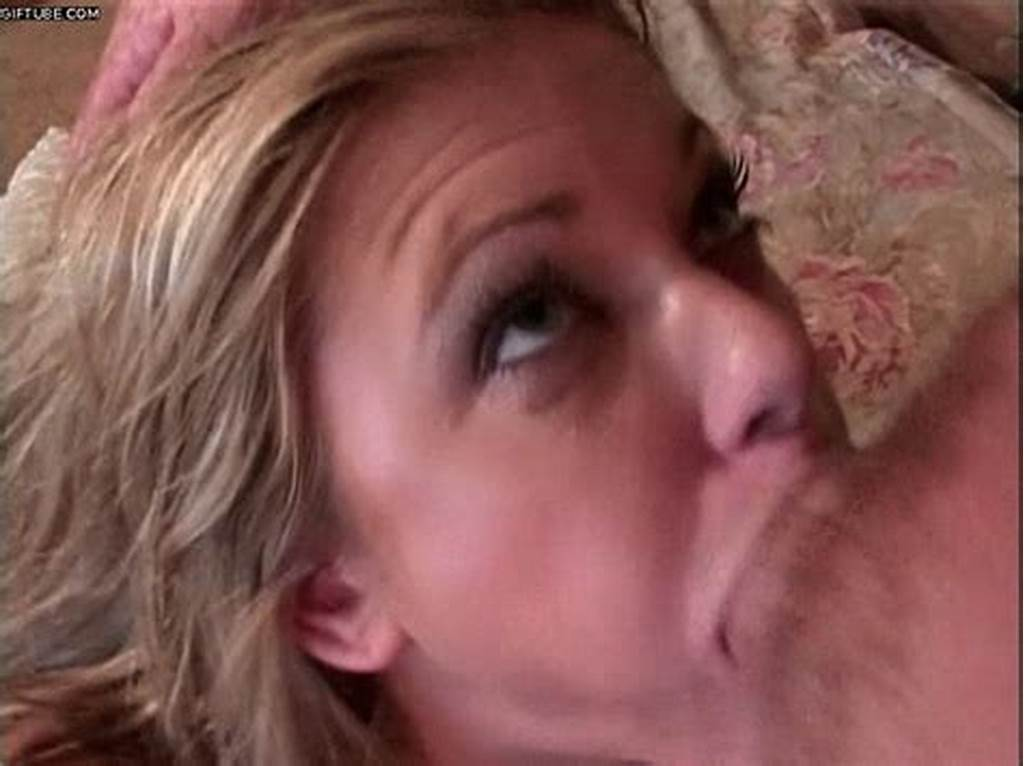 #Blonde #Blue #Eyed #Girl #In #Glasses #Getting #Mouth #Fucked
